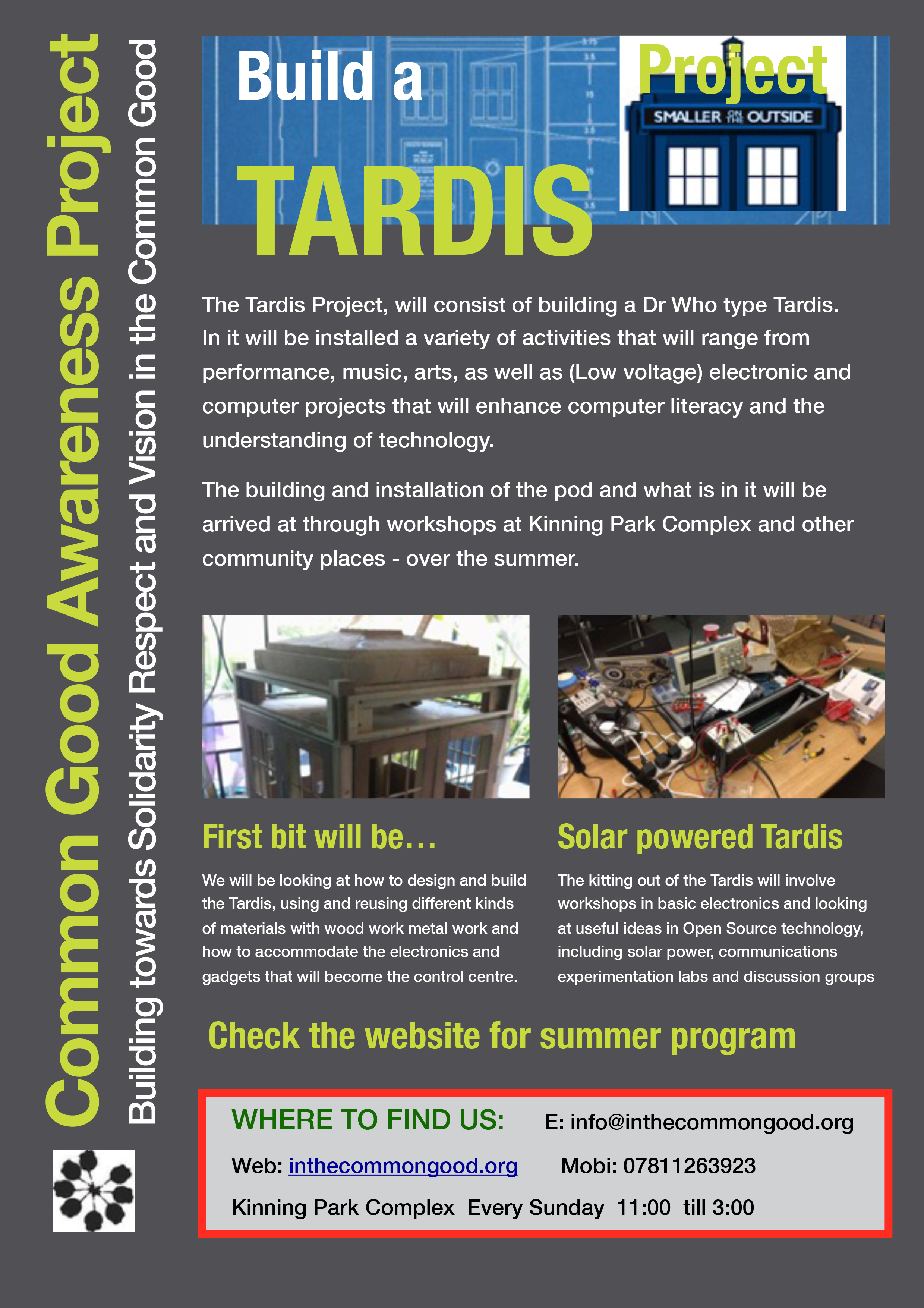 Tardis Project – How to get involved